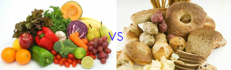 Image result for carbs vs vegetables