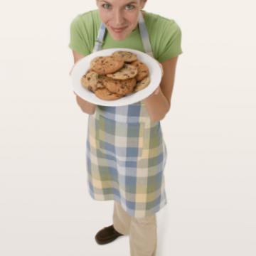 offering cookies